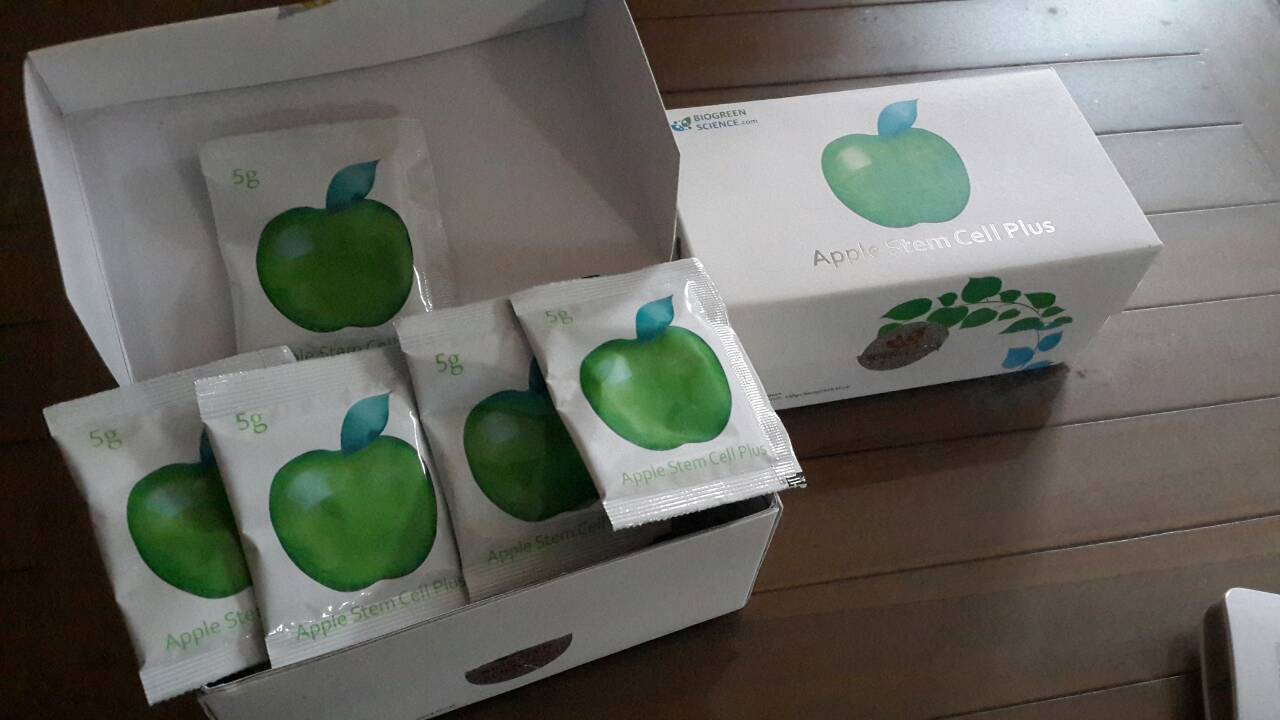 Jual Apple Stem Cell Plus by Biogreen Science Original dan Murah