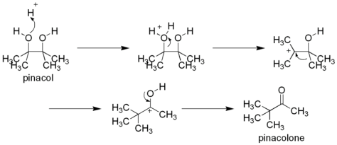 Reaksi Pinakol - Pinakolon