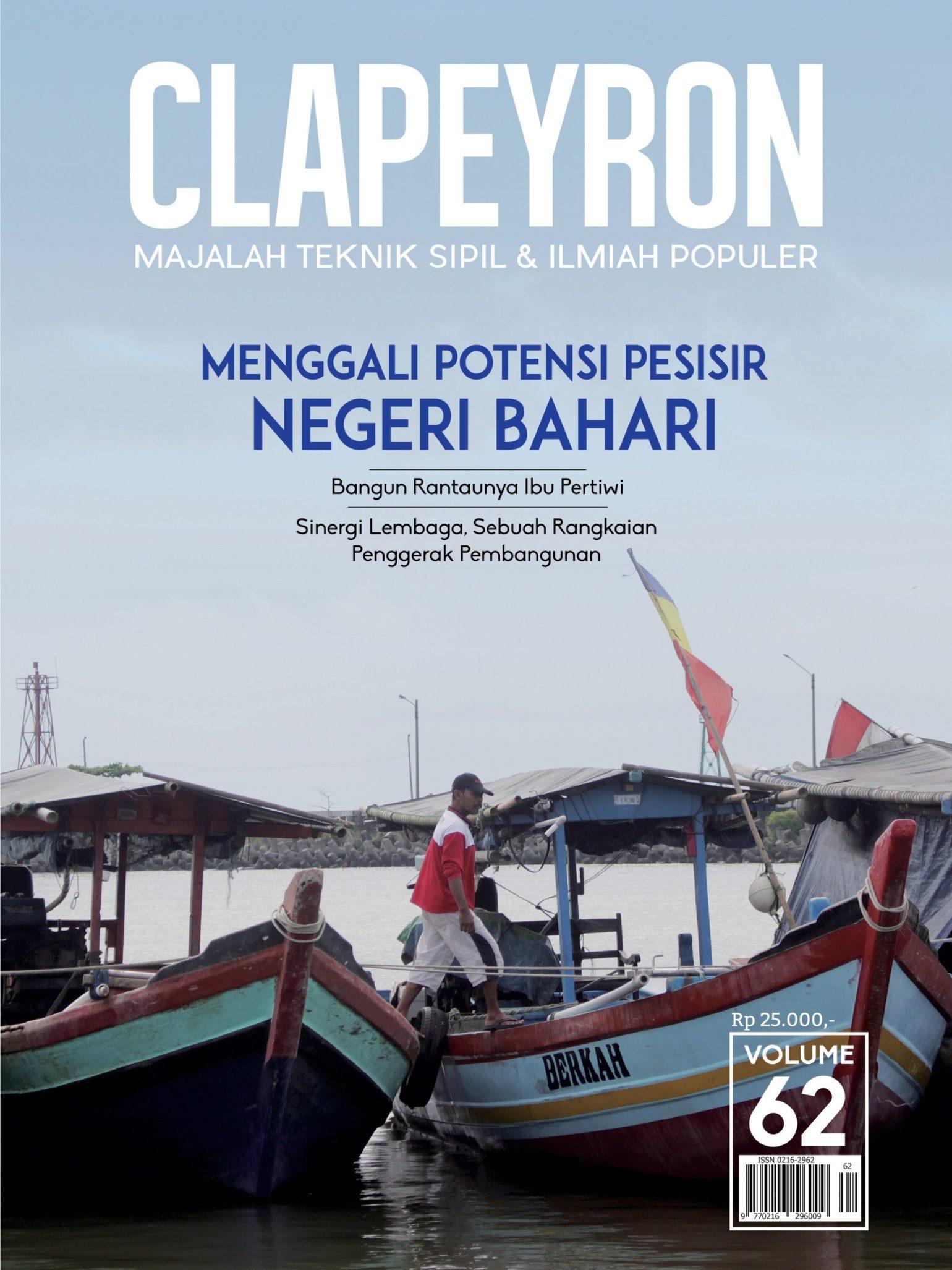 Cover Majalah Clapeyron Volume 62