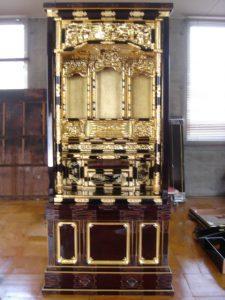 仏壇の洗濯(クリーニング)金箔貼の写真 全体