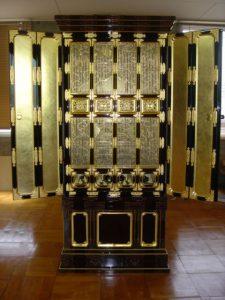 仏壇の洗濯(クリーニング)完成の写真 仏壇前面 障子