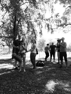 Das Interviewteam (Bild: Christina Pütz)