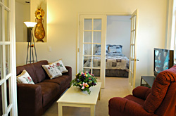 301 Living Room - Gym Club Suites, Bisbee Arizona Hotels