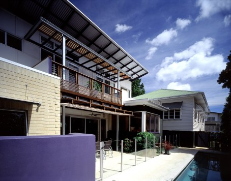 The House Behind by Biscoe Wilson Architects