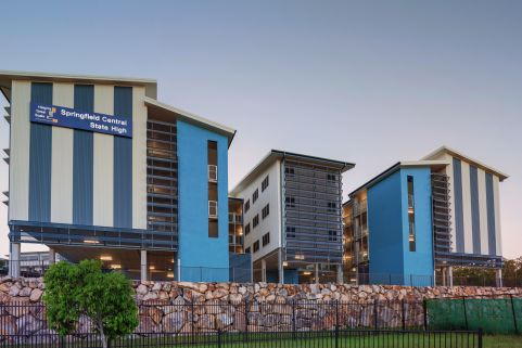 Springfield State School SLC Building by Biscoe Wilson Architects