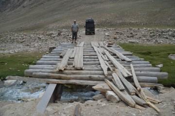 Pamir Highway: Shokh Dara valley/ La route de Pamir: la vallée Shokh