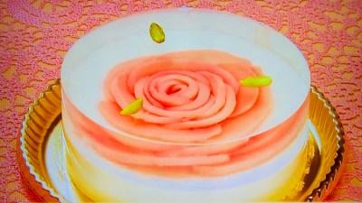 アンテノール「桃のレアチーズデザート」