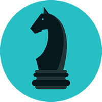 agency partnerships icon of a chess piece to take you to the agency partnerships page