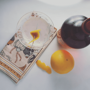This refreshing aperitif is smooth, citrusy, and somehow both delicate and bold. It's a brilliant before dinner drink for any season. Cocktail | Cocktail Recipe | Happy Hour | Aperitif | Drinks | Before Dinner Drink | Citrus Cocktail