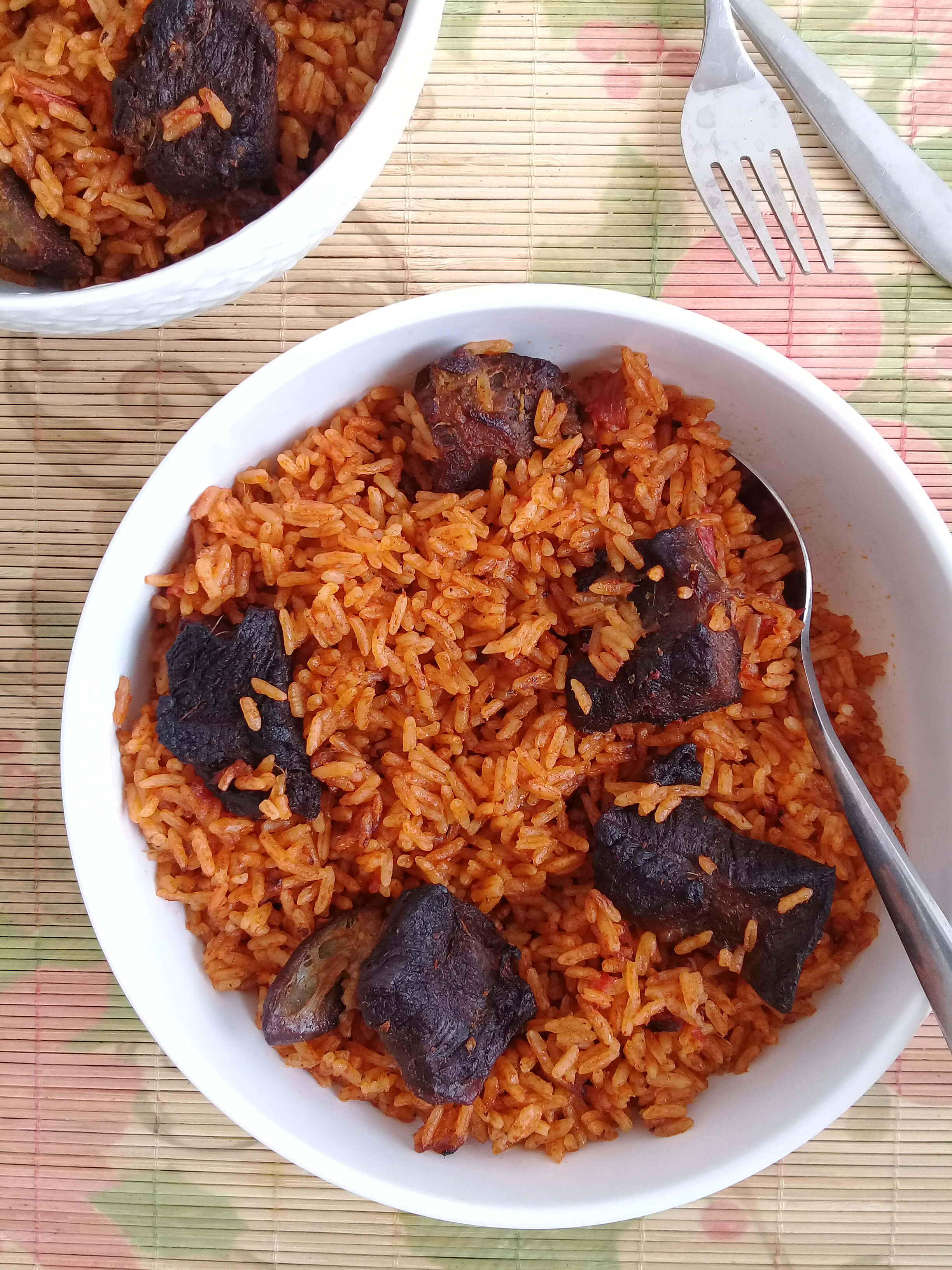 Beef jollof biscuits and ladles ghanas one pot rice dish beef jollof ccuart Gallery