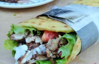 Real and easy chicken shawarma using Middles Eastern spices, this will leave your kitchen smelling lovely, like a spice store.