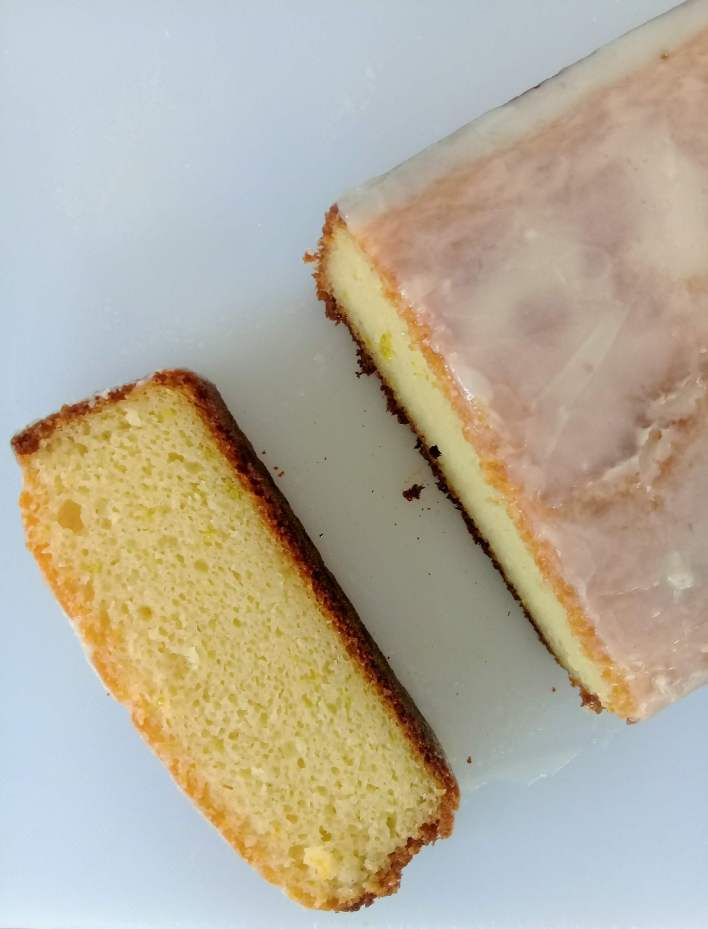Sweet and less tangy moist lemon yogurt loaf cake