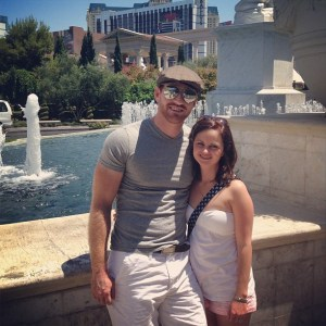 Jess and Blake in Vegas