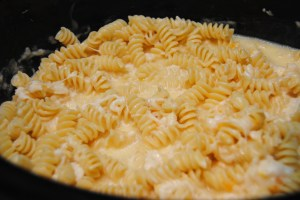 Mac n cheese uncooked
