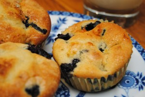 Blueberry muffins2