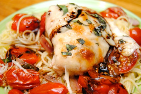 Caprese Chicken Bake