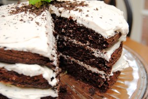 Chocolate Mint Cake13