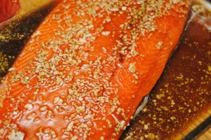 Sweet and smokey salmon1