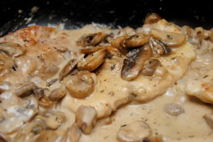 Savory Mushroom Asiago Chicken7
