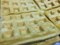 White Whole Wheat Belgian Waffles