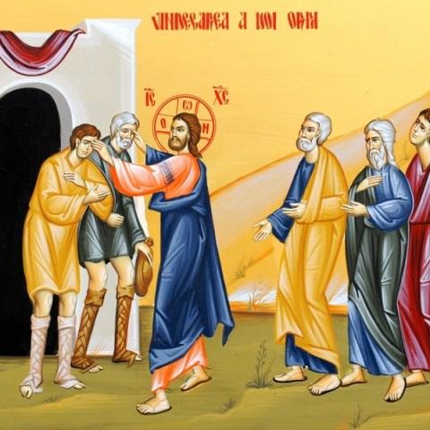Vindecarea a 2 orbi și a unui mut din Capernaum