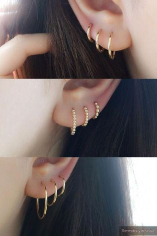 Trending Ear Piercing ideas for women. 2nd Ear Piercing Ideas and Piercing Unique Ear. Ear piercings can make you look totally different from the rest.