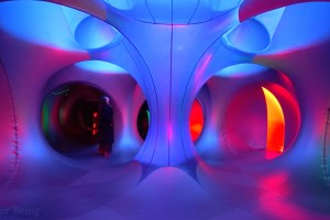 Inside the Katena Luminarium