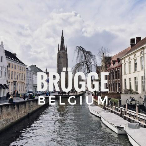【荷比葡法摩】小情小調小歐遊 | 布魯日 Bruges