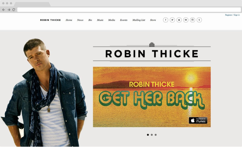 Robin Thicke - Home