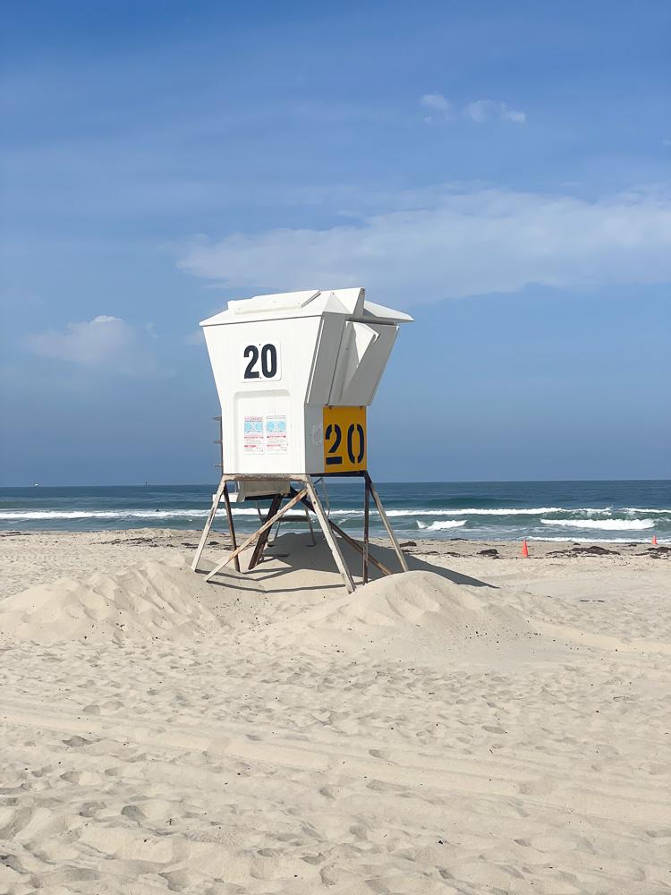 lifeguard station 20