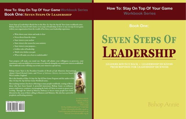 How To Stay On Top Of Your Game Workbook Series. Book One: Seven