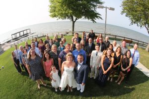 group wedding shot