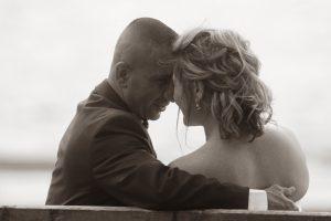 black and white wedding photography Elyria Ohio