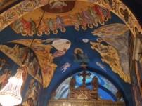 Gaza church cieling