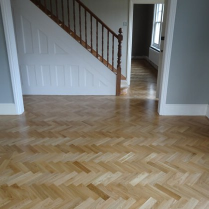 Parquet Flooring (Otherwise known as Herringbone Flooring)