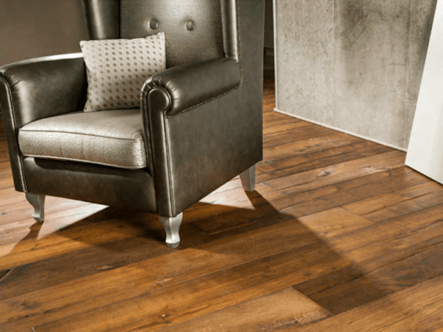 Arm chair on beautiful original timber floor boards