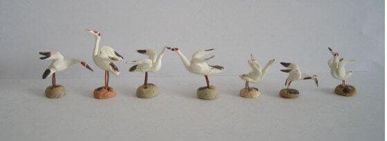 Mudmen Birds - Cranes