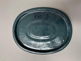 Ceramic drip tray (oval 25cm)