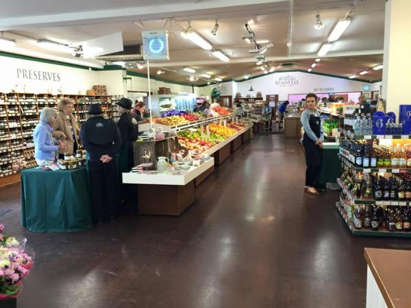 Inside the 200 square metre Rumwell Farm Shop, that includes; Food Hall, Butchery, Bakery, Deli, Jam Kitchen, Gifts, plants & flowers.