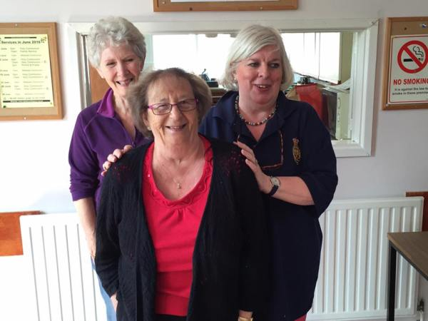 Carole, Margaret and Sue.