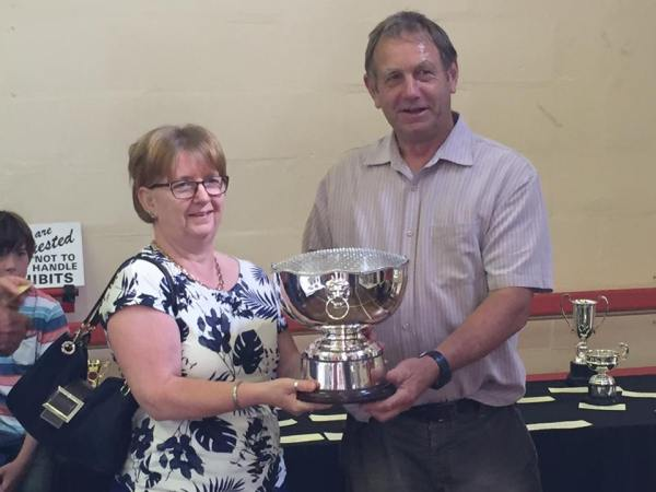 Vera Weston Trophy for best floral display in a basket by a local organisation – Bishops Hull Church