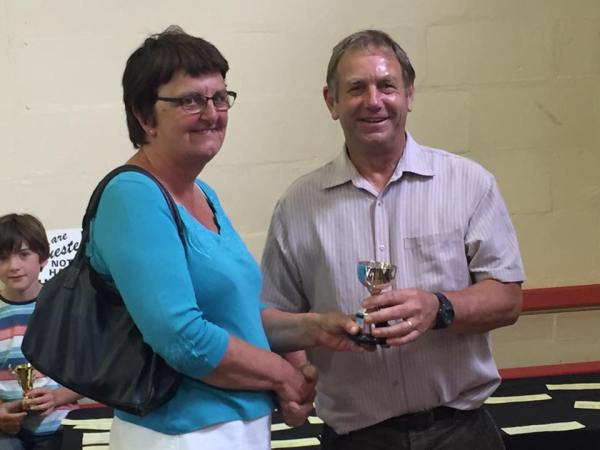 Miss Hicks Trophy for Most prize cards by an entrant – Karen Dudley