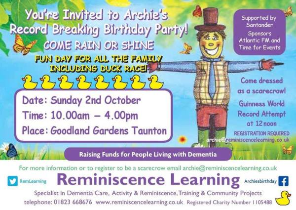 Reminiscence Learning Scarcrow Oct 2016