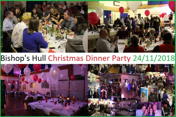 bishops hull residents christmas dinner party 2018 - Christmas Dinner Party