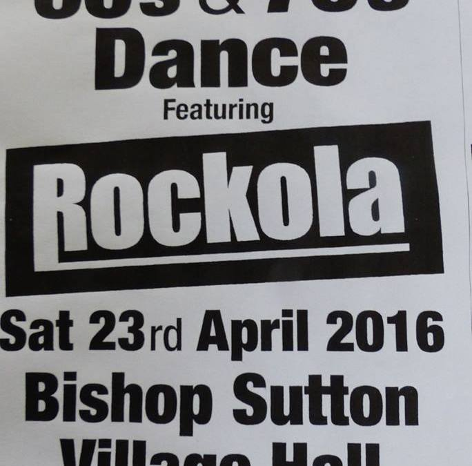 23 April: Rockola at the Village Hall