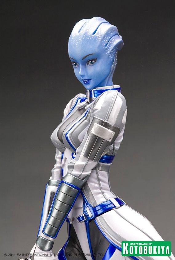 Liar Girl Wallpaper Mass Effect Liara T Soni Bishoujo Statue Bishoujo Statues