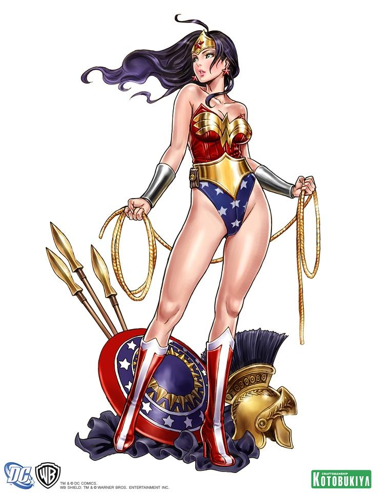 wonder-woman-bishoujo-statue-illustration-dc-comics-kotobukiya-Shunya-Yamashita