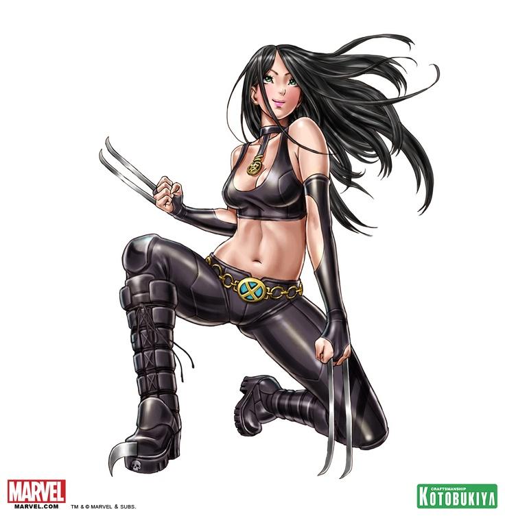 x-23-bishoujo-statue-illustration-marvel-kotobukiya-Shunya ... X 23 Marvel