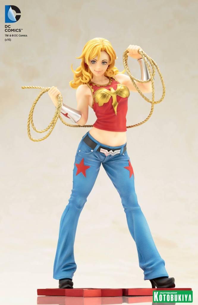 Wonder Girl Bishoujo Statue DC Comics Kotobukiya