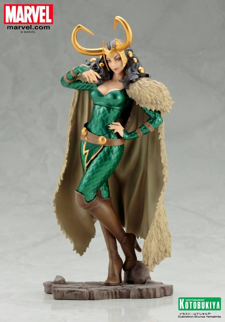 Marvel Loki Bishoujo Statue Marvel Kotobukiya